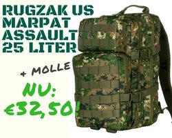 Marpat US Molle Rugzak assault 25 liter