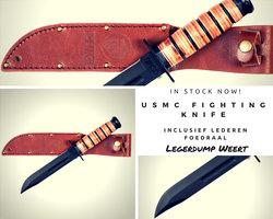 Kopie van KA-BAR USMC fighting knife