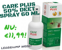 Care Plus 50% Deet spray 60 ml