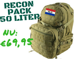 Recon Pack 50 Litre - Coyote