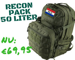 Recon Pack 50 Litre - Olive