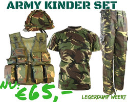 Army Kinder Set