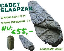 Slaapzak Cadet - Olive