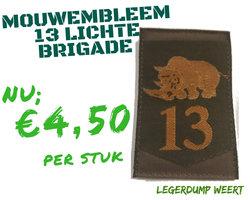 13 Lichte Brigade Embleem