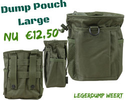 Dump pouch molle -olive