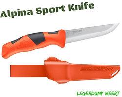 Alpina Sport Vaststaand mes Orange
