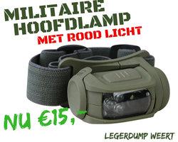 Militaire Hoofdlamp Predator II