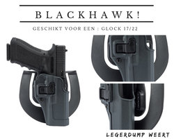 BLACKHAWK! SERPA SPORTSTER HOLSTER - GLOCK 17/22