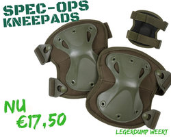 Spec-Ops Armour Knee Pads