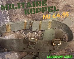 MILITAIRE  / LEGER KOPPEL