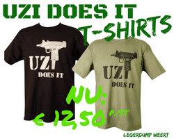 UZI T-SHIRT BLACK