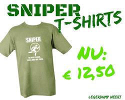 SNIPER T-SHIRT OLIVE