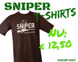 SNIPER T-SHIRT BLK