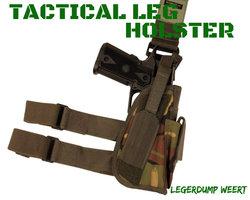 Tactical Leg Holster - DPM