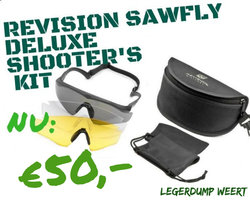 Revision Sawfly Deluxe Shooter's Kit