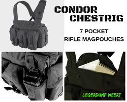 CONDOR TACTICAL CHEST RIG VEST