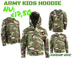Army kids vest