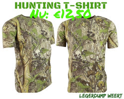 Hunting camo T-shirt