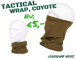 Tactical wrap Coyote