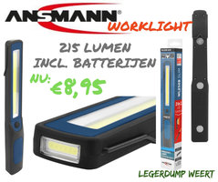 ANSMANN WL250B Slim Worklight