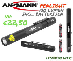 Ansmann Penlight Future T120