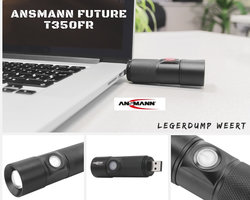 Ansmann T350FR Future USB zaklamp