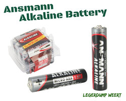ANSMANN Alkaline Battery AAA - 20 Stuks