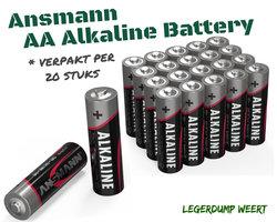 ANSMANN Alkaline Battery AA - 20 Stuks