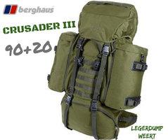 Berghaus Crusader III 90 + 20 - Olive