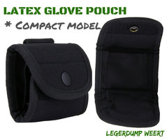 Latex glove pouch compact model