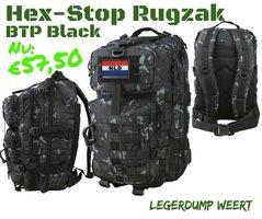 Hex-Stop BTP Black molle Rugzak