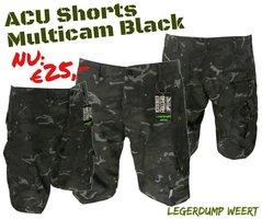 Korte broek BTP Black