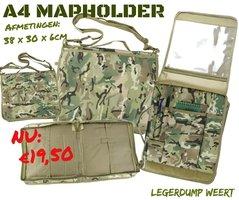 A4 Notebookholder / A4 Kaartmap