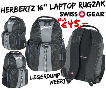 Herbertz Swiss Gear Laptop-Rugzak