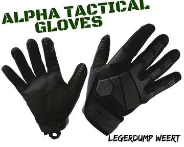 Alpha Tactical Gloves -  Black
