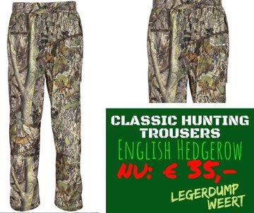 Classic Hunting TrousersEnglish Hedgerow Camo