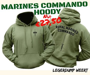 Royal Marines Commando Hoody