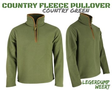 Country Fleece Pullover