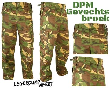 DPM combat broek