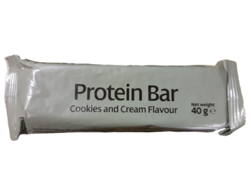 Protein Bar Cookie And Cream Flavour