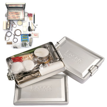 101 INC Survival Kit in Aluminium Box