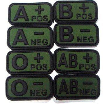 Bloedgroep patch AB+ POS