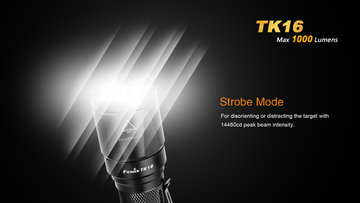 Fenix TK16 LED zaklamp