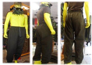Joggingsbroek Army Green XXL