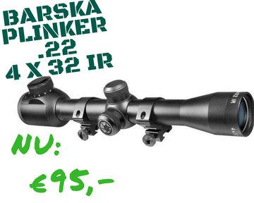 Barska Plinker .22, 4 X 32IR