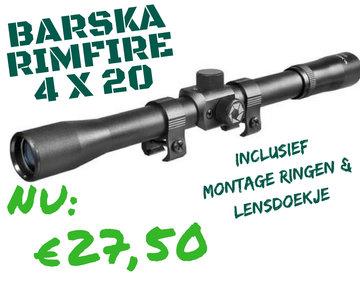 Barska Rimfire 4x20