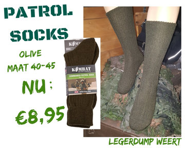 Commando Patrol Socks