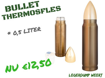 BULLET THERMOSFLES - 0,5  LITER