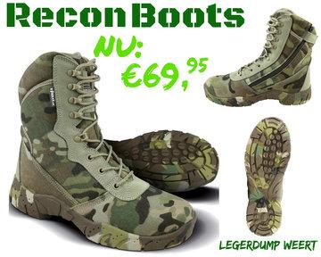 BTP camo Recon boots