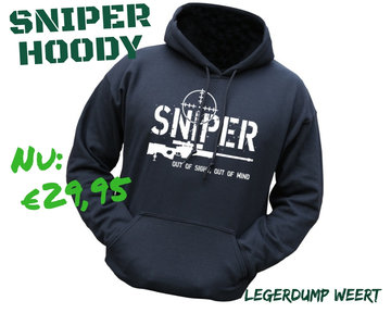 Sniper Hoodie - Maat L